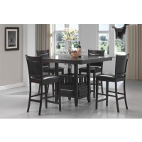 JADEN COLLECTION - Jaden Casual Espresso Counter- Height Table