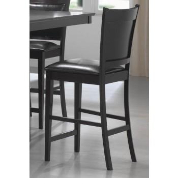JADEN COLLECTION - Jaden Casual Espresso Counter-Height Chair  (Pack of 2)