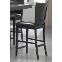 JADEN COLLECTION - Jaden Casual Espresso Counter-Height Chair  (Pack of 2)