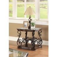 LIVING ROOM :TRADITIONAL OCCASIONAL TABLES - END TABLE