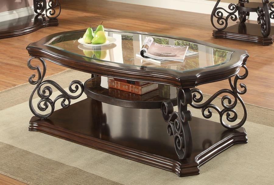TRADITIONAL OCCASIONAL TABLES - COFFEE TABLE