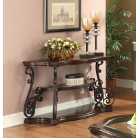 LIVING ROOM :TRADITIONAL OCCASIONAL TABLES - SOFA TABLE