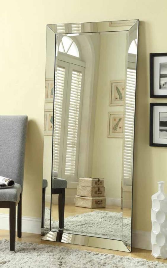 Contemporary Full Length Floor Mirror Mirrors D Amp L