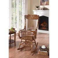 LIVING ROOM: ROCKING CHAIRS - Traditional Wooden Rocking Chair