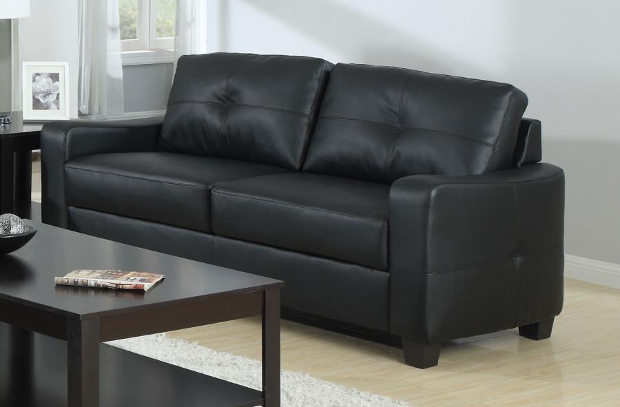JASMINE COLLECTION - Jasmine Casual Black Sofa