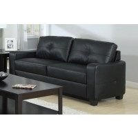 JASMINE COLLECTION - Jasmine Casual Black Sofa