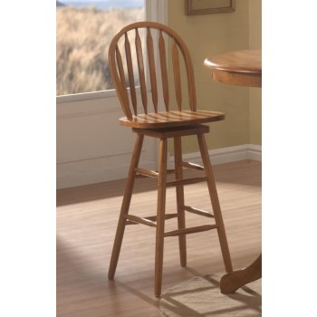 Bar Stools Wood Swivel Contemporary Arrow Back Oak Bar Stool