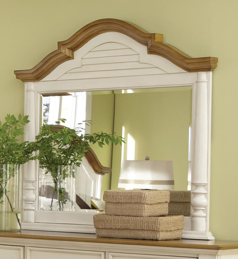 Oleta Collection - Oleta Buttermilk Dresser Mirror