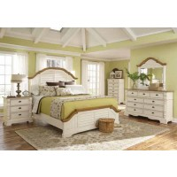 Oleta Collection - Oleta Cottage Brown California King Bed