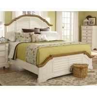 Oleta Collection - Oleta Cottage Buttermilk Queen Bed