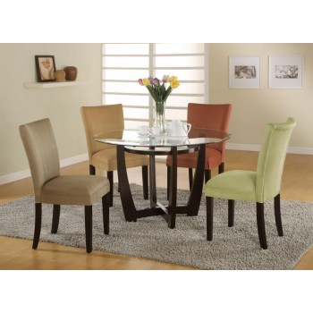 BLOOMFIELD COLLECTION - Bloomfield Cappuccino Round Dining Table Base
