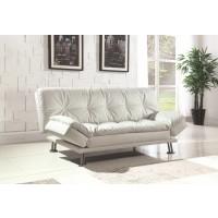 DILLESTON COLLECTION - Dilleston Contemporary White Sofa Bed