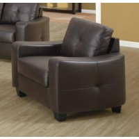 JASMINE COLLECTION - Jasmine Casual Dark Brown Chair