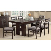 DABNY COLLECTION - DINING TABLE W EXT LEAF