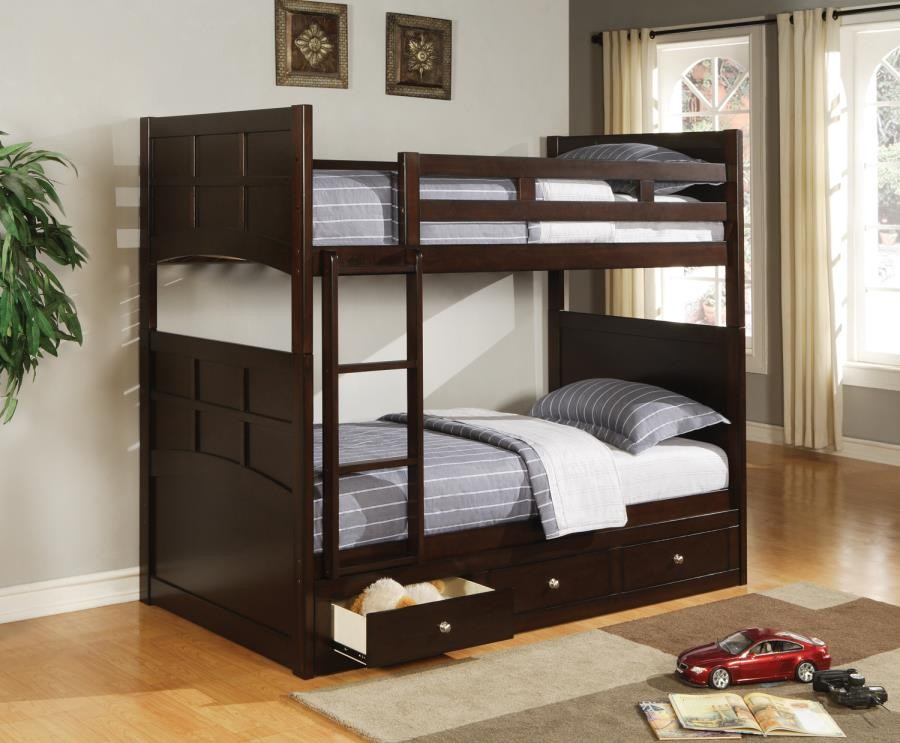 JASPER COLLECTION - Jasper Twin Bunk Bed