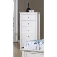 Selena Collection - Selena Contemporary White Chest