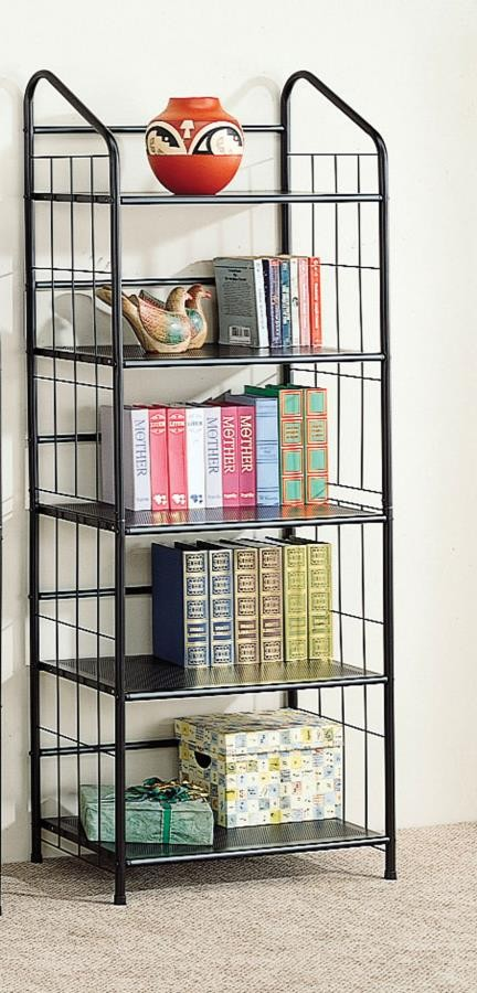 HOME OFFICE : BOOKCASES - Home Office Casual Black Bookcase