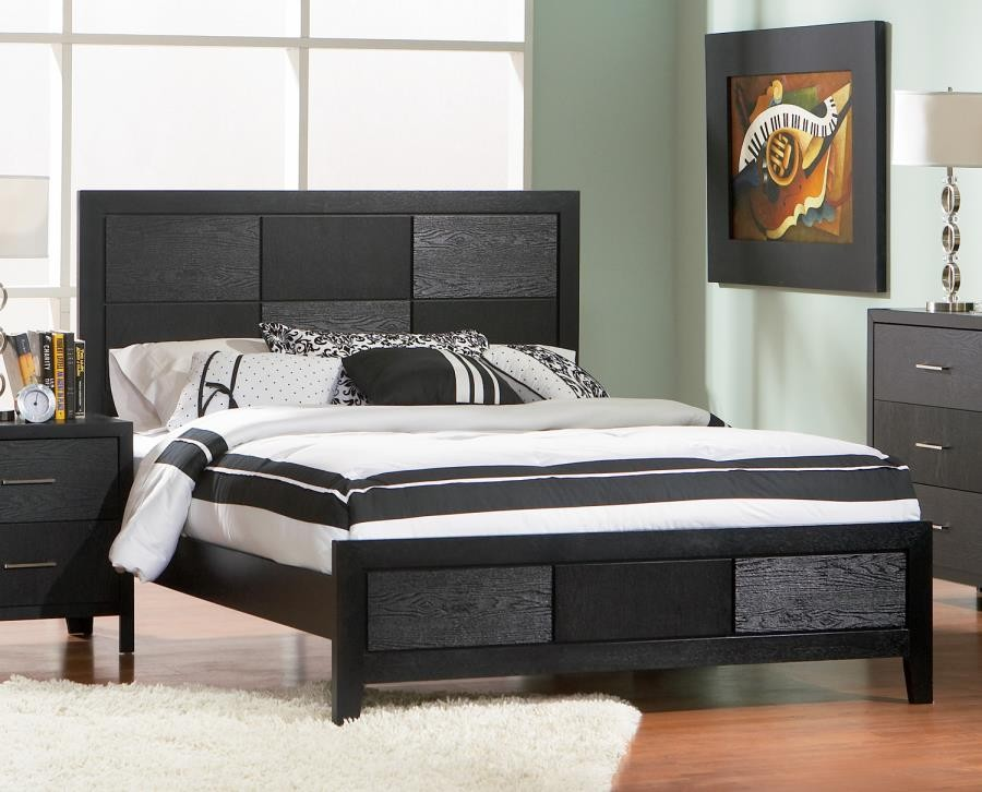 GROVE COLLECTION - QUEEN BED