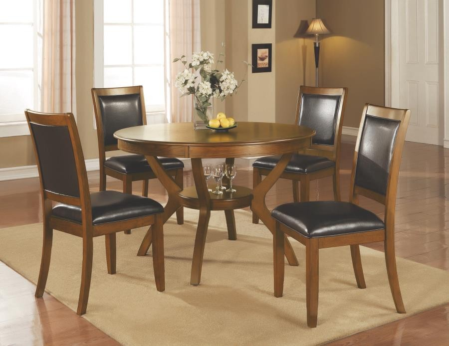 NELMS COLLECTION - Nelms Casual Deep Brown Dining Table