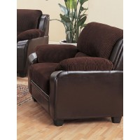 MONIKA COLLECTION - Monika Transitional Chocolate Chair