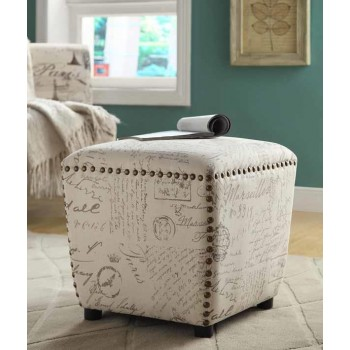 ACCENTS : OTTOMANS - STOOL