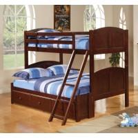 Parker Bunk Bed - Parker Chestnut Twin-over-Full Bunk Bed