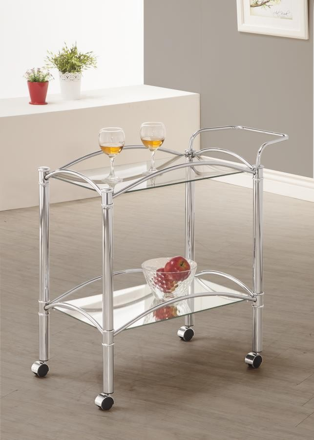 REC ROOM: SERVING CARTS - SERVING CART