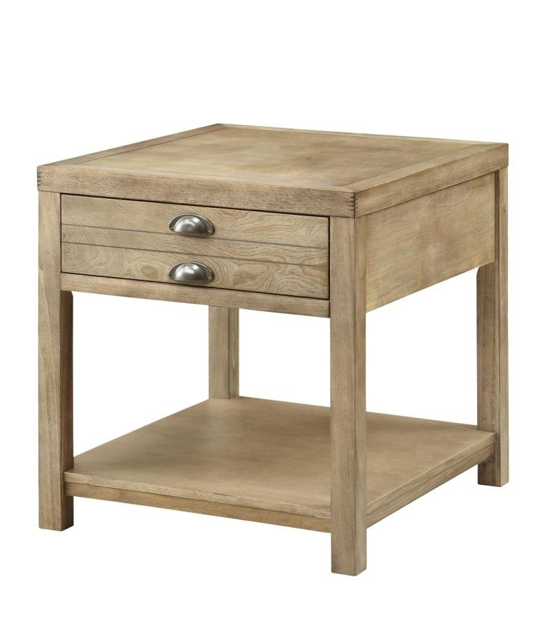 Lighted End Tables Living Room Furniture: LIVING ROOM : INDUSTRIAL/RUSTIC OCCASIONAL TABLES
