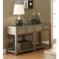 LIVING ROOM : INDUSTRIAL/RUSTIC OCCASIONAL TABLES - SOFA TABLE