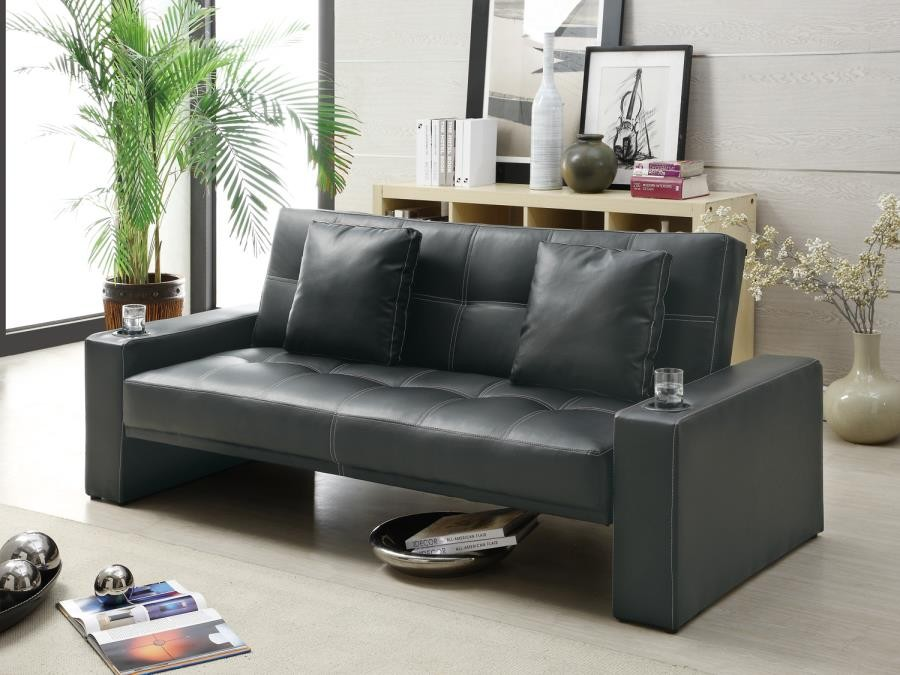 Admirable Living Room Sofa Beds Contemporary Black Sofa Bed Evergreenethics Interior Chair Design Evergreenethicsorg