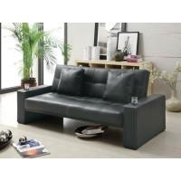 LIVING ROOM : SOFA BEDS - Contemporary Black Sofa Bed
