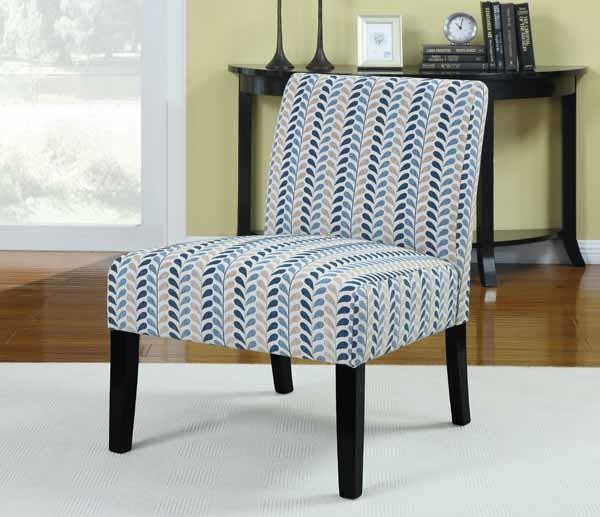 ACCENTS : CHAIRS - Transitional Multi-Color Accent Chair