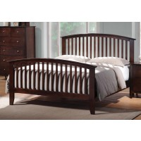 TIA COLLECTION - Tia Cappuccino Queen Bed