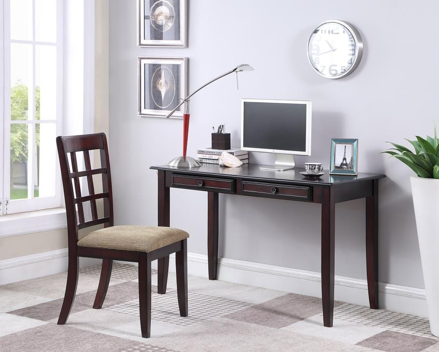 NEWTON COLLECTION - Casual Dark Amber Desk Set