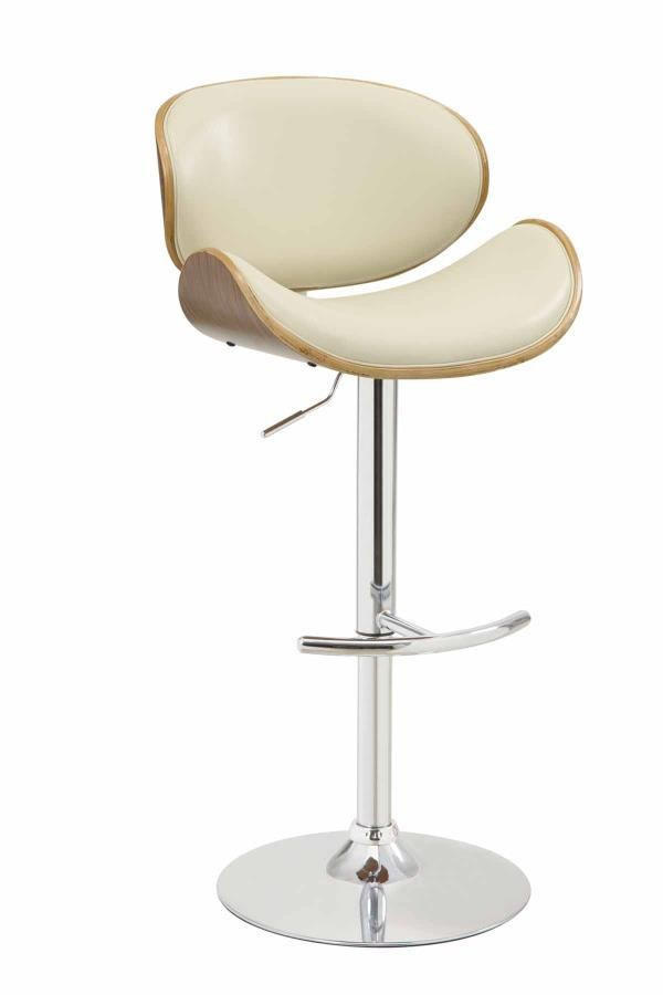 Outstanding Bar Stools Height Adjustable Contemporary Cream Gmtry Best Dining Table And Chair Ideas Images Gmtryco