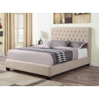 Chloe Upholstered Bed - TWIN BED