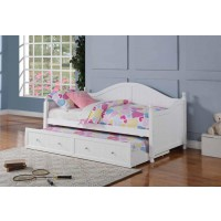 TWIN DAYBED WITH TRUNDLE - TWIN DAYBED W/ TRUNDLE