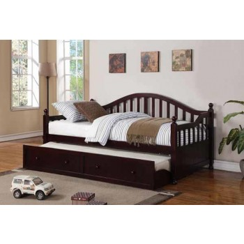 TWIN DAYBED - Coastal Cappuccino Twin Daybed