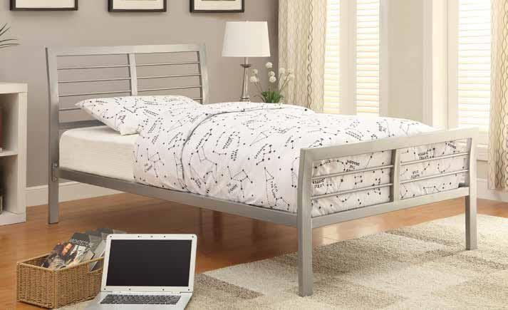 Mod Metal bed - TWIN BED