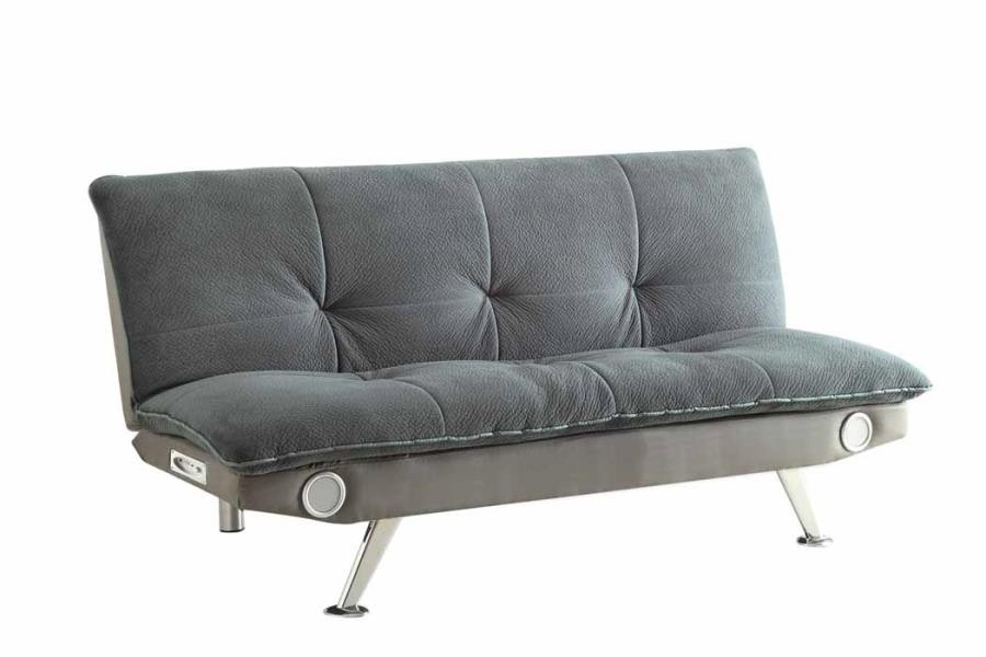 LIVING ROOM : SOFA BEDS - Casual Grey Sofa Bed
