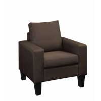 Bachman Collection - Bachman Transitional Chocolate Chair