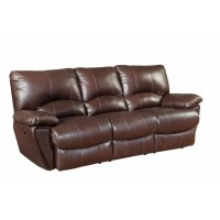 CLIFFORD MOTION COLLECTION - Clifford Motion Dark Brown Double Power Reclining Sofa