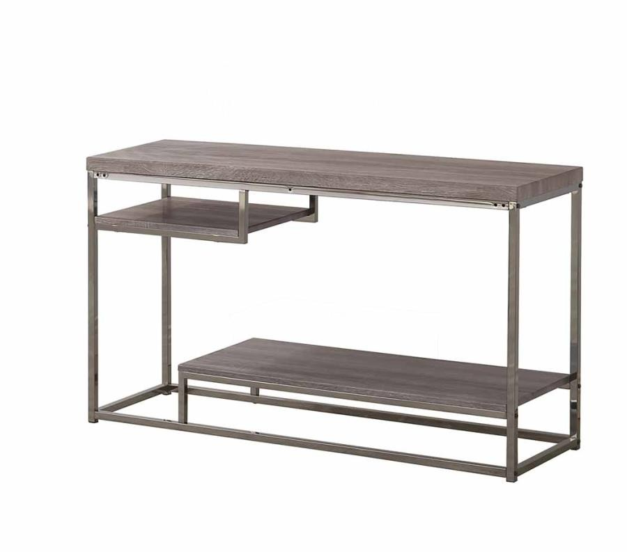 Surprising Living Room Wood Top Occasional Tables Modern Dark Grey Sofa Table Ncnpc Chair Design For Home Ncnpcorg