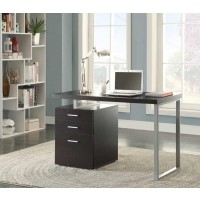 BRENNAN DESK - Contemporary Cappuccino Writing Desk