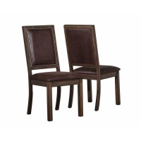 GENOA COLLECTION - SIDE CHAIR (Pack of 2)
