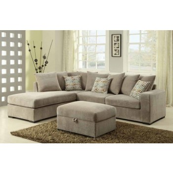 OLSON SECTIONAL - Olson Reversible Sectional with Chaise