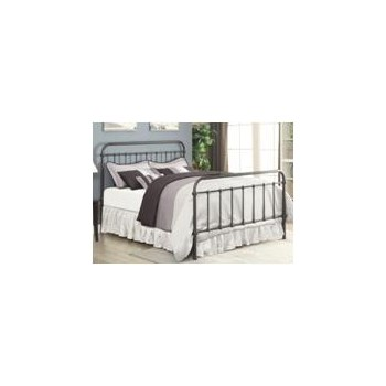 LIVINGSTON METAL BED - TWIN BED