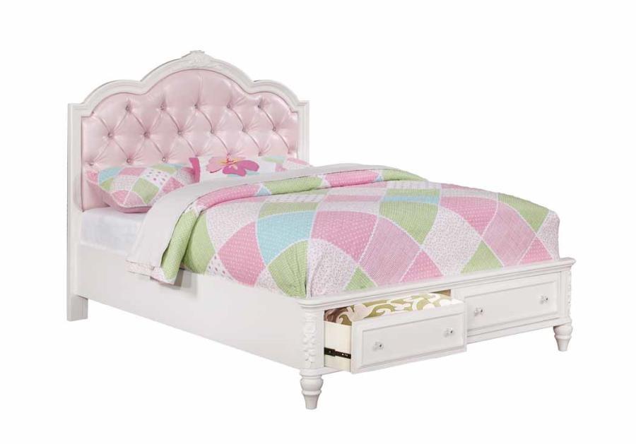 CAROLINE COLLECTION - FULL STORAGE BED