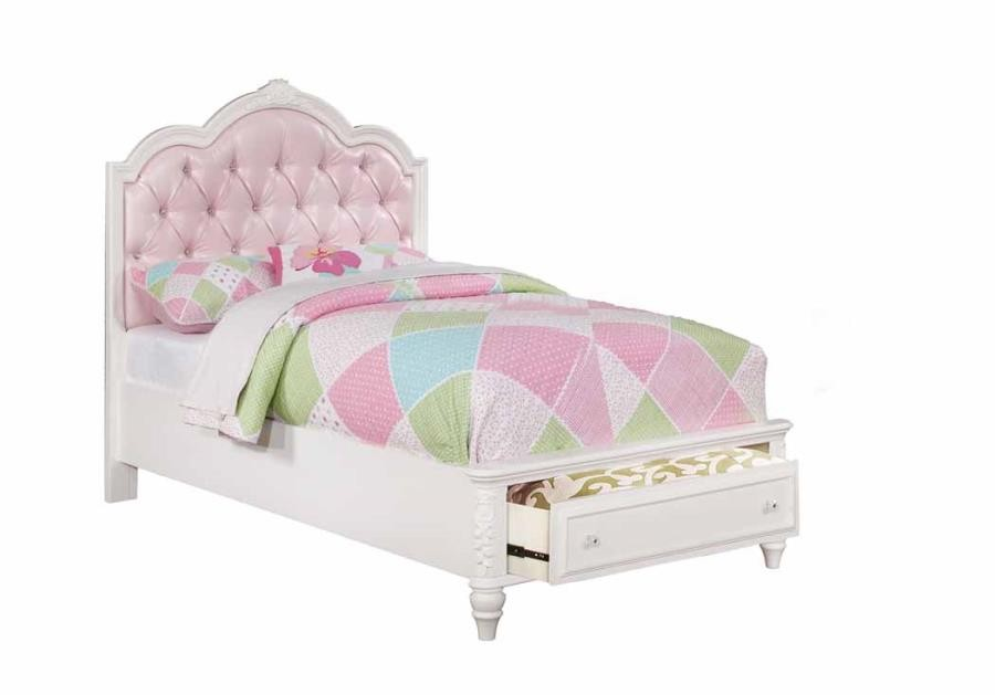 CAROLINE COLLECTION - TWIN STORAGE BED