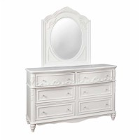 CAROLINE COLLECTION - Caroline White Dresser